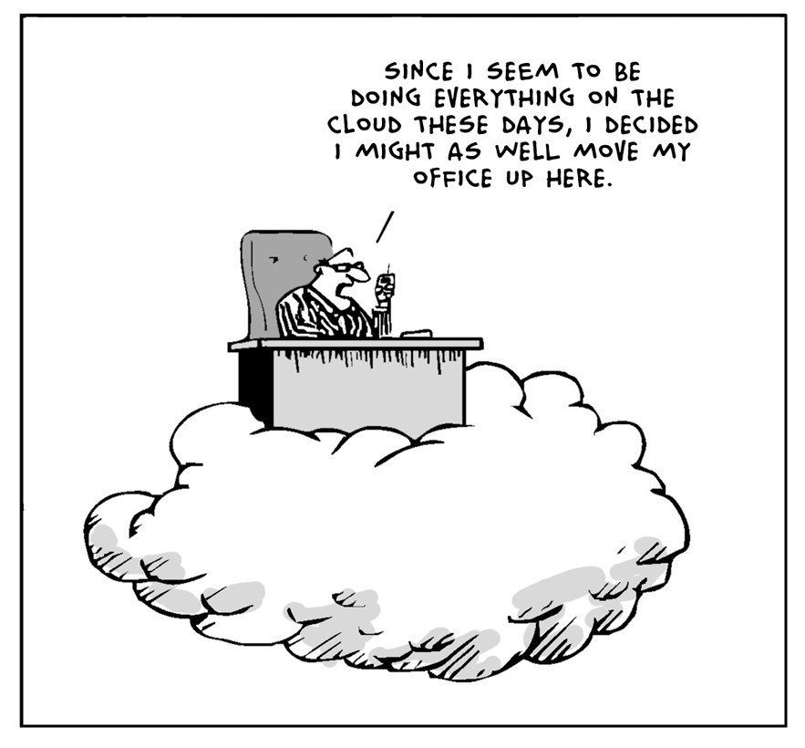 The Lighter Side Of The Cloud – The Top Floor