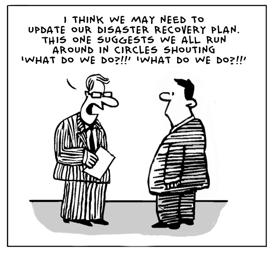 The lighter side of the cloud disaster recovery plan for Disaster recovery communication plan template