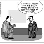 The Lighter Side Of The Cloud – Staff Notice Board