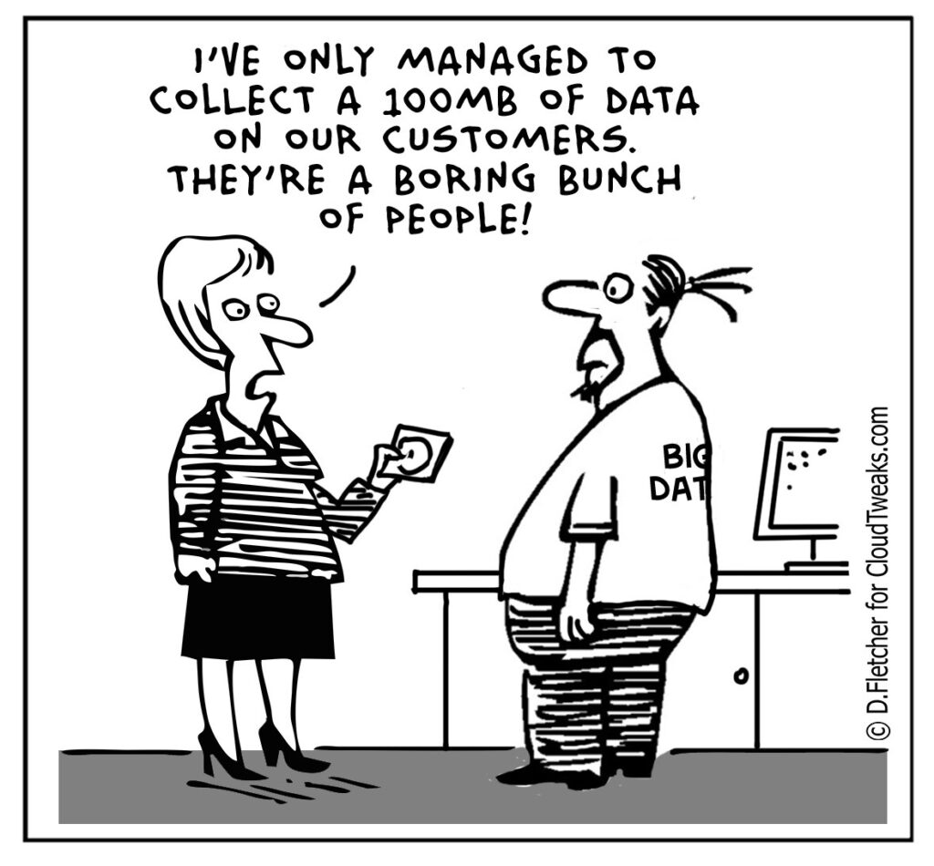 The Lighter Side Of The Cloud – Big Data