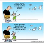 The Lighter Side Of The Cloud – Mischievous Easter Bunny