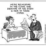 The Lighter Side Of The Cloud – Staff Relocation