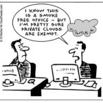 The Lighter Side Of The Cloud – Smoke Free Office