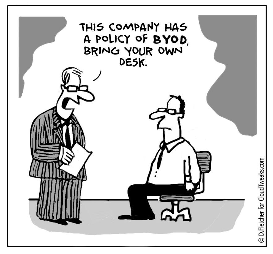 The Lighter Side Of The Cloud – BYOD