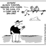 The Lighter Side Of The Cloud – Bird Envy