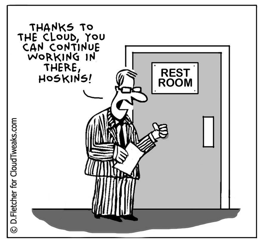 The Lighter Side Of The Cloud – The Restroom