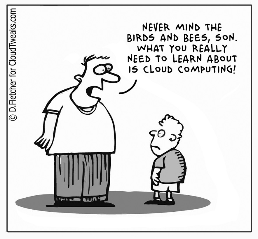 The Lighter Side Of The Cloud – Birds & The Bees