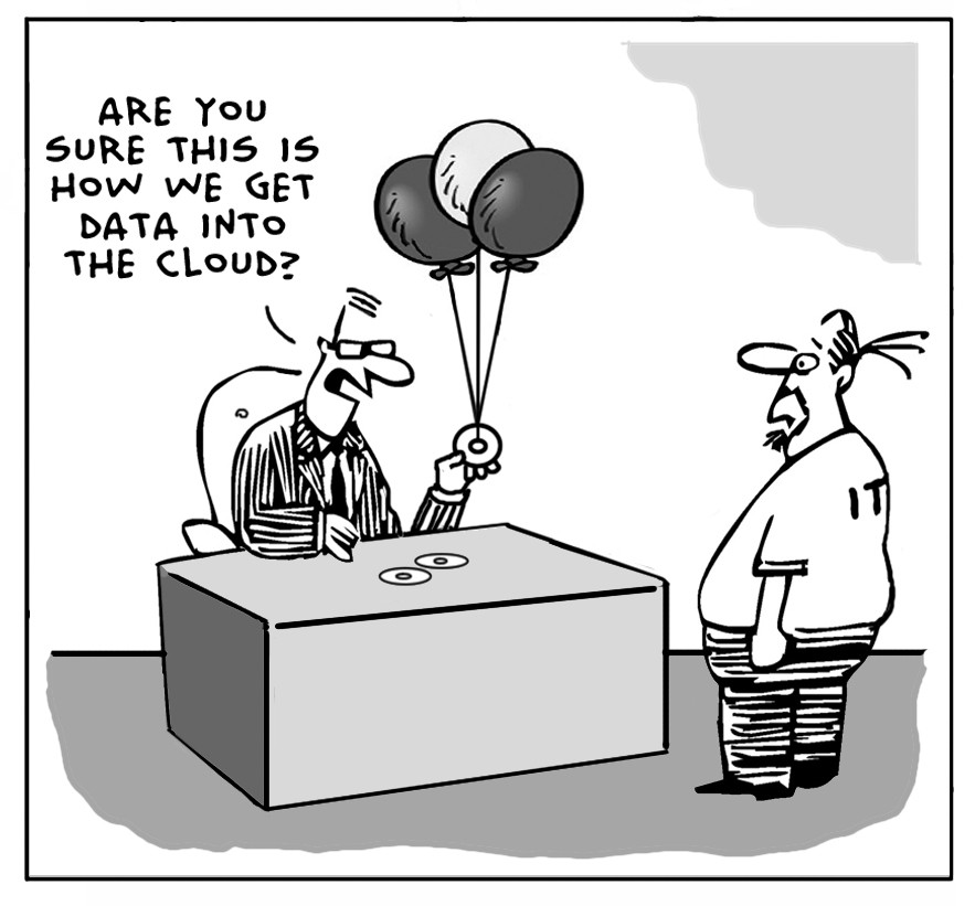 The Lighter Side Of The Cloud – IT Department