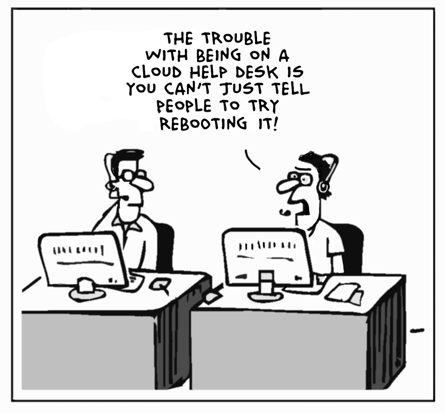 The Lighter Side Of The Cloud – Cold Boot