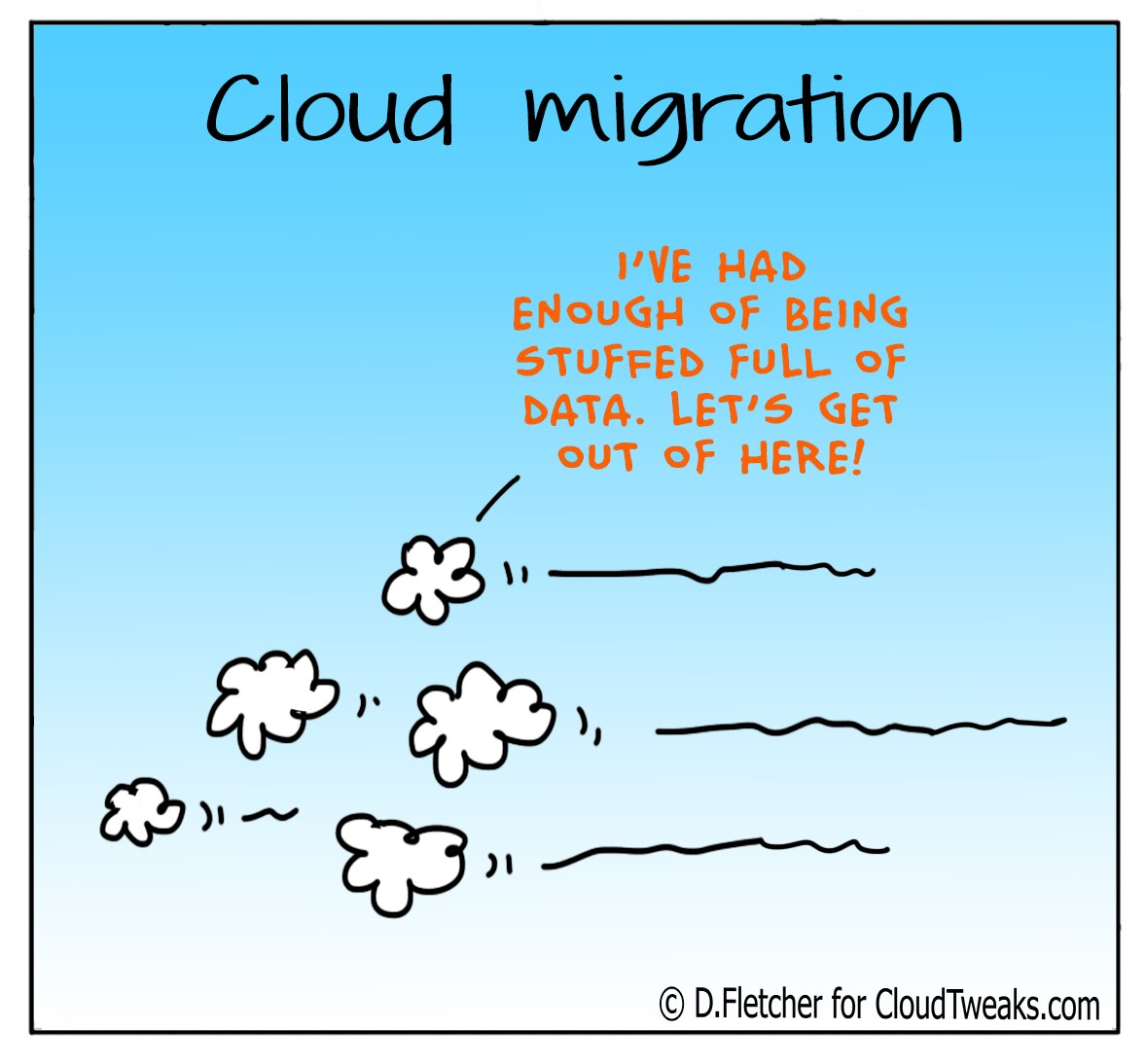 Cloud Comic