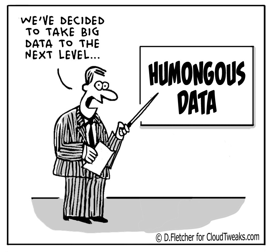 The Lighter Side Of The Cloud – Humongous Data
