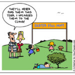 The Lighter Side Of The Cloud – Easter Egg Hunt