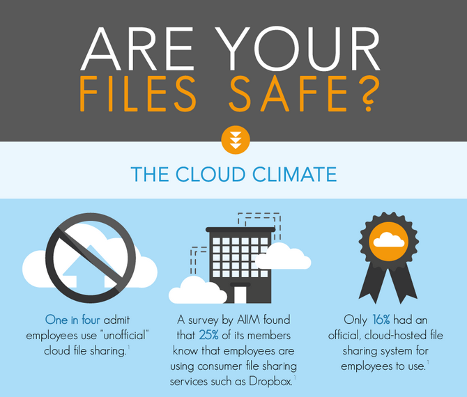 Cloud Infographic: The Cloud Climate – Are Your Files Safe?