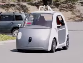 Google's Autonomic Robotic Car – What Side Are You On?