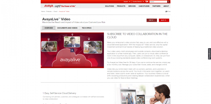 AvayaLive-Video-Service