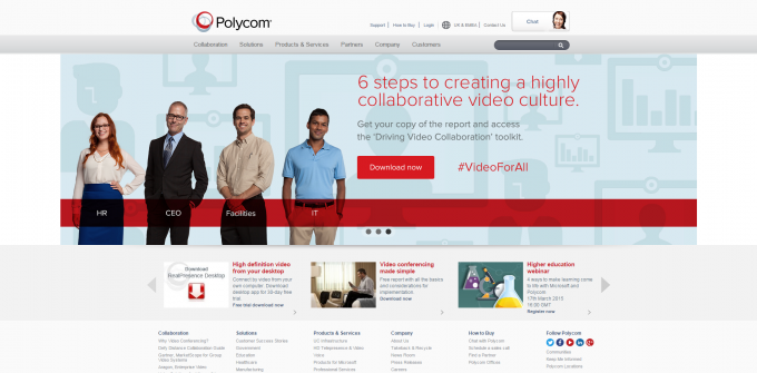 Polycom-Video-Conferencing-Telepresence