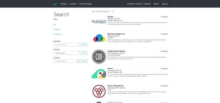 Find Startups-Investors-Gust
