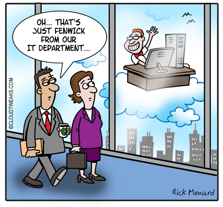 The Lighter Side Of Cloud Overhead Reduction
