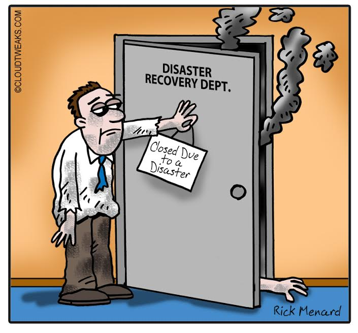 the lighter side of the cloud   contingency plan