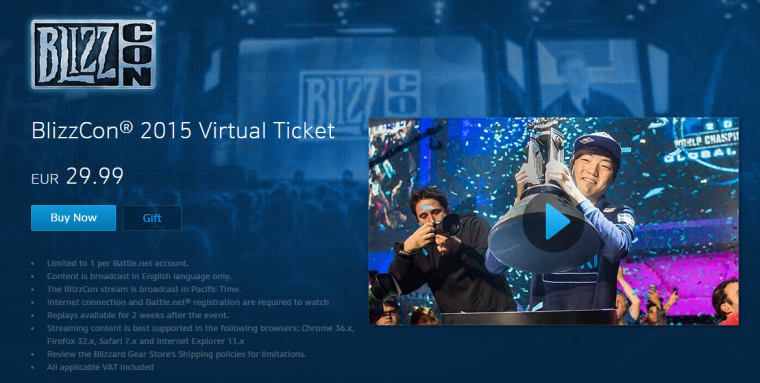 gaming industry blizz con
