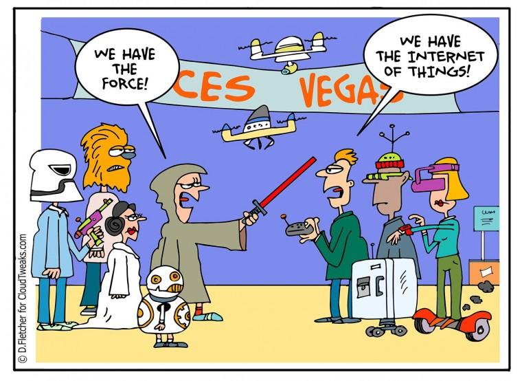 Star Wars IoT CES