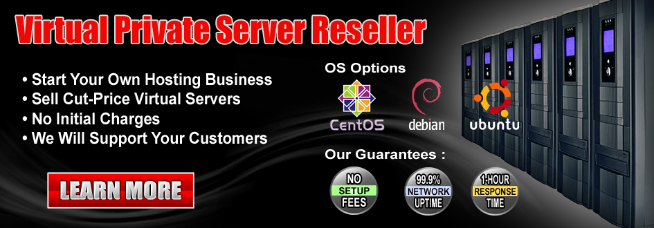 VPS and cloud reseller programs