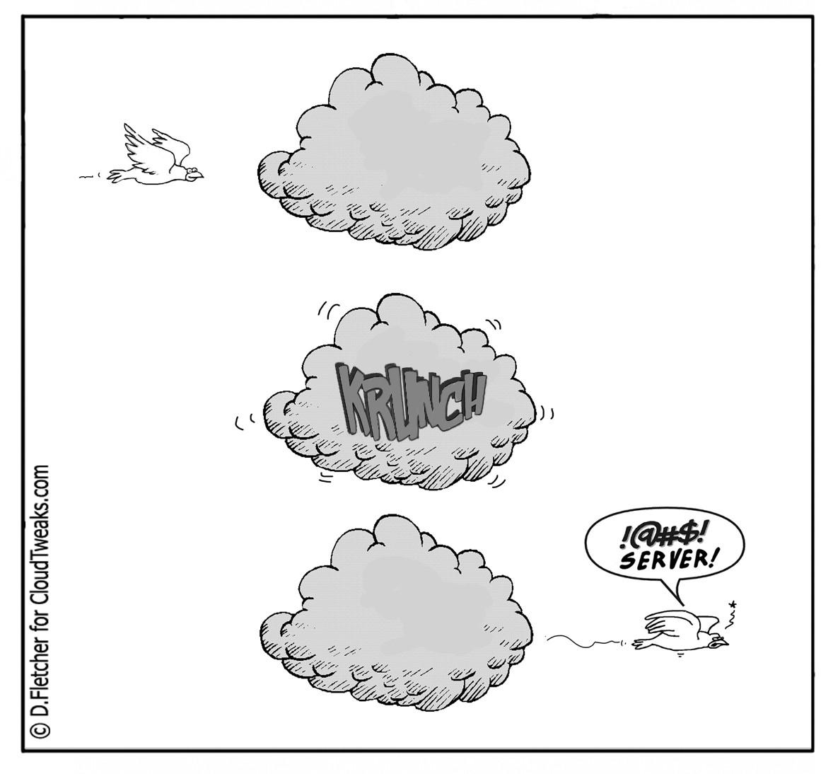 open source server comic