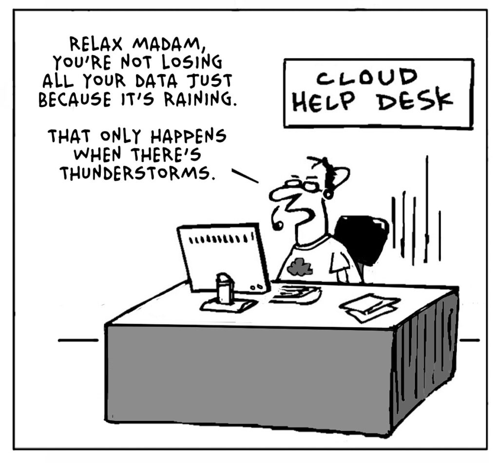 Lighter Side Of The Cloud