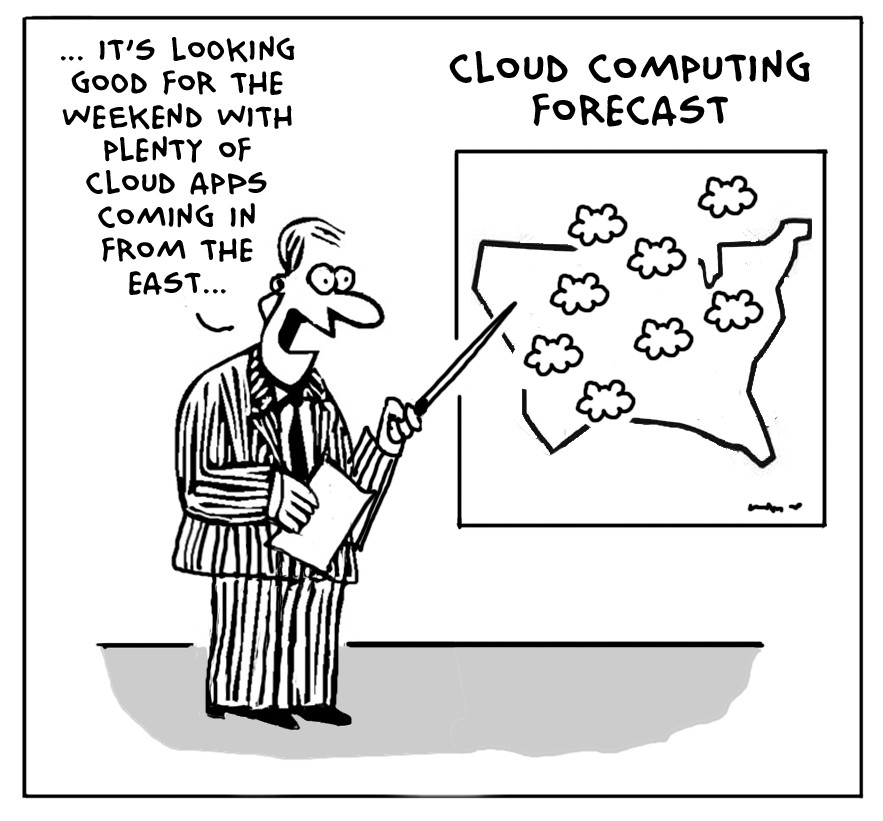 The Lighter Side Of The Cloud Application Forecaster