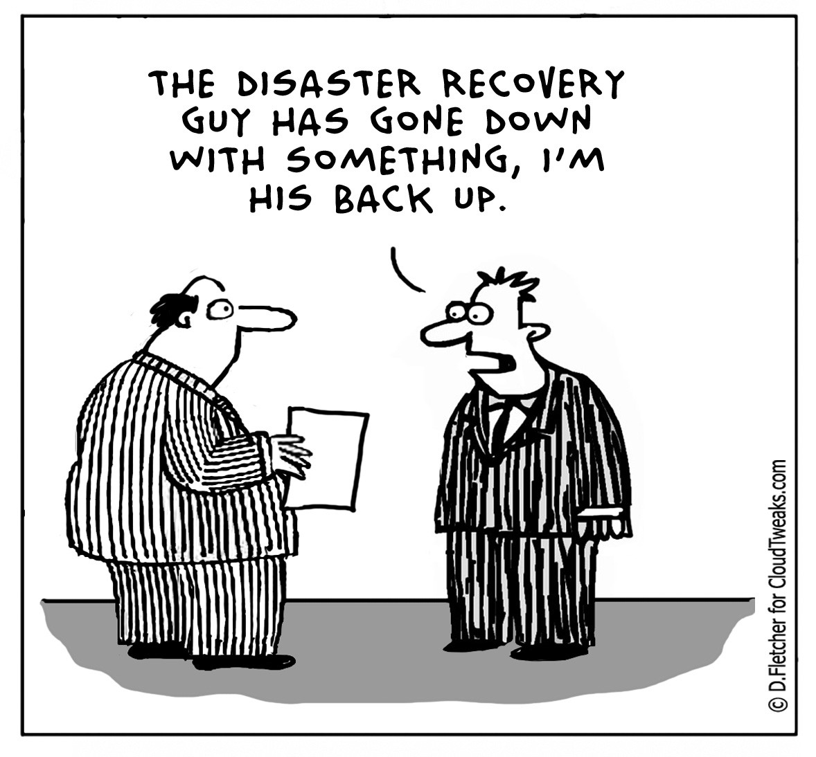 Backups And Disaster Recovery