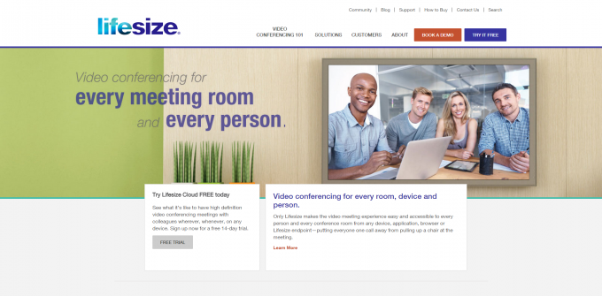 HD Video Conferencing Solutions for Small to Large Businesses-Lifesize