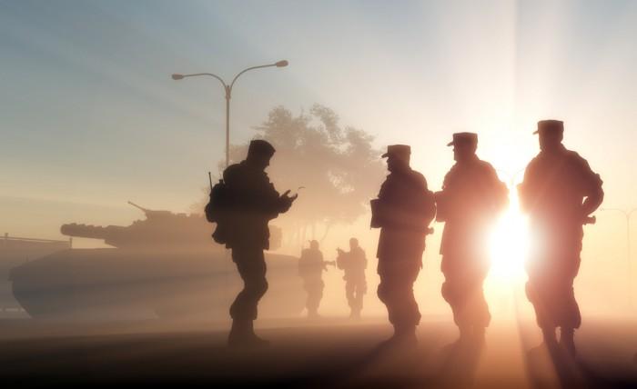 military-social-media