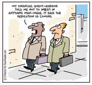 Robo Advisors Cloudtweaks Comic