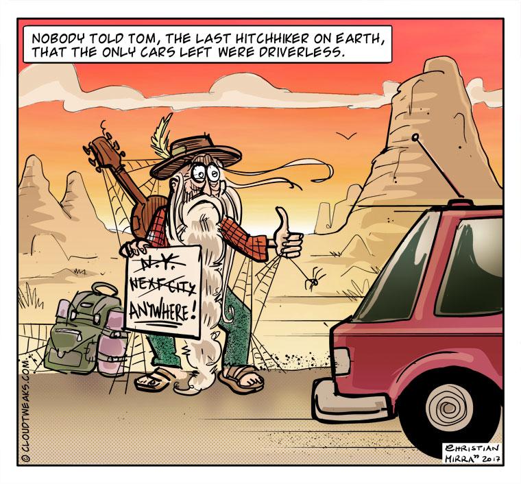 Comic - Driverless