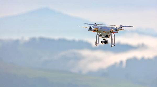 Metal Detecting Drone