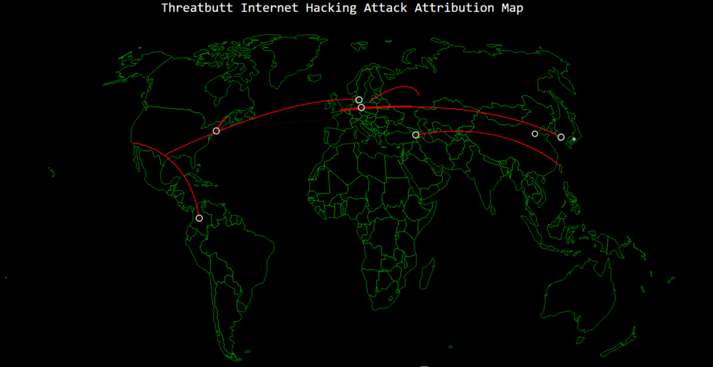 Click To See - 10 Live Hacking Tracking Maps