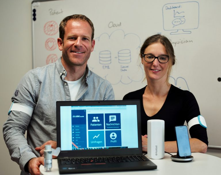 IBM scientists Thomas Brunschwiler and Rahel Straessle are developing machine learning algorithms to interpret the IoT data.