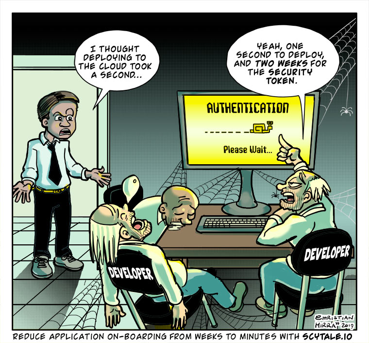 Scytale Comic