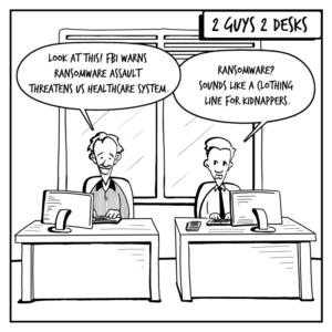 Ransomware Comic