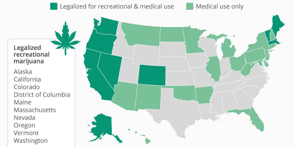 Chartoftheday 6681 The States Where It S Legal To Smoke Marijuana N