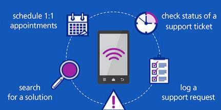 Mobile Cloud Service Helpdesk